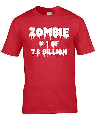 tiges T-Shirt Ugly Zombie Apocalypse Humor Witz Party (Halloween Erwachsenen Witze)