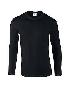 Mens Plain Black T Shirt 7f461f853
