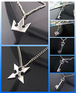 Wholesale-Kingdom-Hearts-Sora-Crown-Roxas-Cross-Necklace-Pendant-Figure-In-Stock