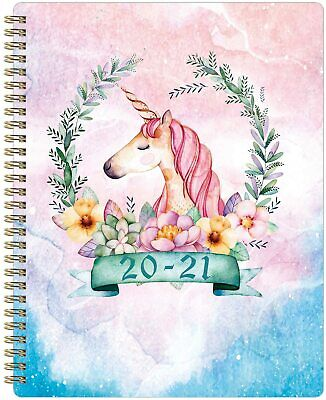2020-2021 Planner Unicorn Academic Weekly Monthly Planner Fast Ship
