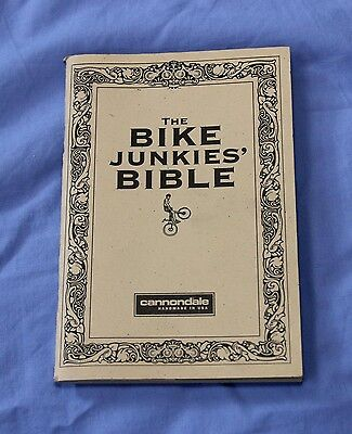Cannondale Bike Junkies' Bible bike manual, vintage 1996 NEW!