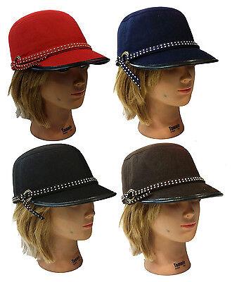 Ladies Women Newsboy Church Dress Cloche Fashion  Horse Riding Jockey Hat (Womans Cloche Hat)