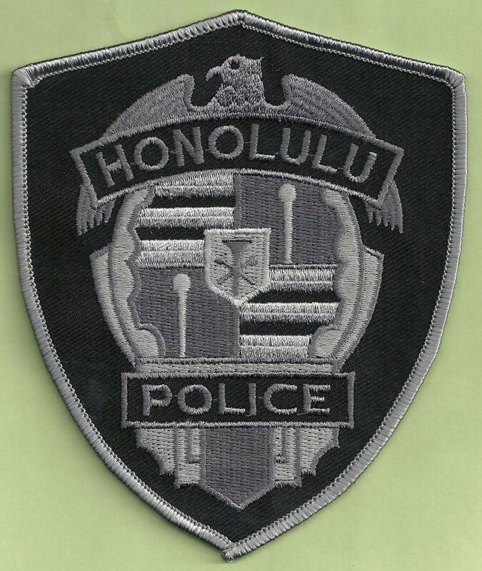 HONOLULU HAWAII POLICE TACTICAL SHOULDER PATCH