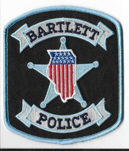 Bartlett Police Department, Illinois Shoulder Patch