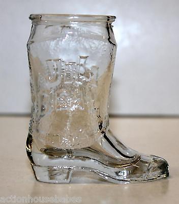 JIM BEAM Cowboy Boot Shot Glass (Cowboy Boot Glasses)