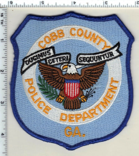 Cobb County Police (Georgia)  Shoulder Patch - new from 1993