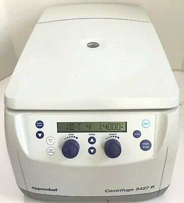 Eppendorf 5427r Refrigerated Centrifuge W Fa-45-24-11 Rotor Lid Warranty