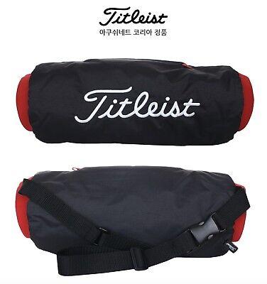 NEW Titleist Golf Fleece Lined Hand Warmer Arm Sleeve Rounding Protective Belt  Lined Hand Warmer Pockets