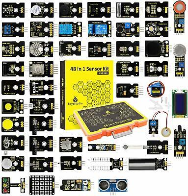 Keyestudio 37 In 1 Electronic Components Modules Starter Science Set For Arduino