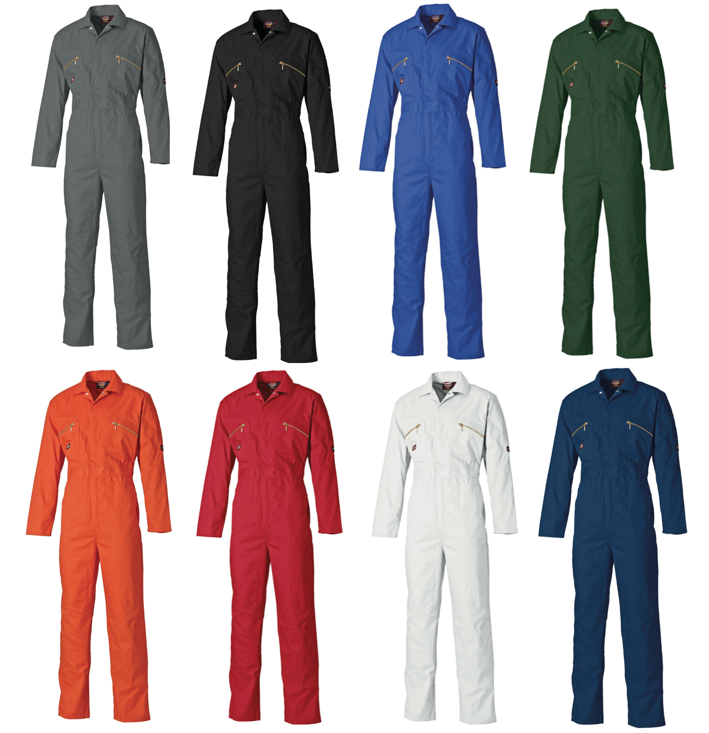 Lincoln Green 38R Dickies WD4839 Redhawk Overall with Zip Front