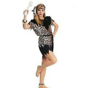 Women Sexy Prehistoric Cave Girl Jungle Woman Cavewoman Dress Costume