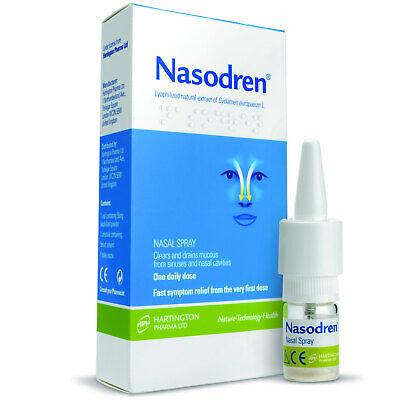 Nasodren Nasal Spray Fast & effective Treatment for Sinusitis Best (Best Sinus Pain Relief)