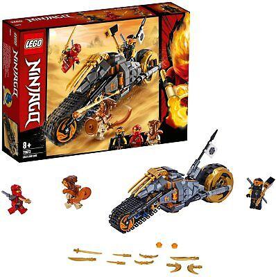 LEGO NINJAGO Cole's Dirt Bike Ninja Motorbike Caterpillar Tracks Building Toy