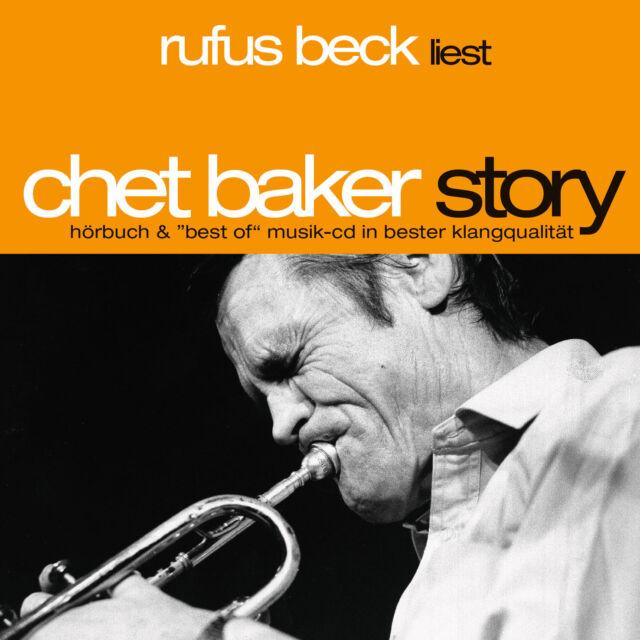Hörbuch CD Chet Baker Story von Rufus Beck, Chet Baker 3CDs