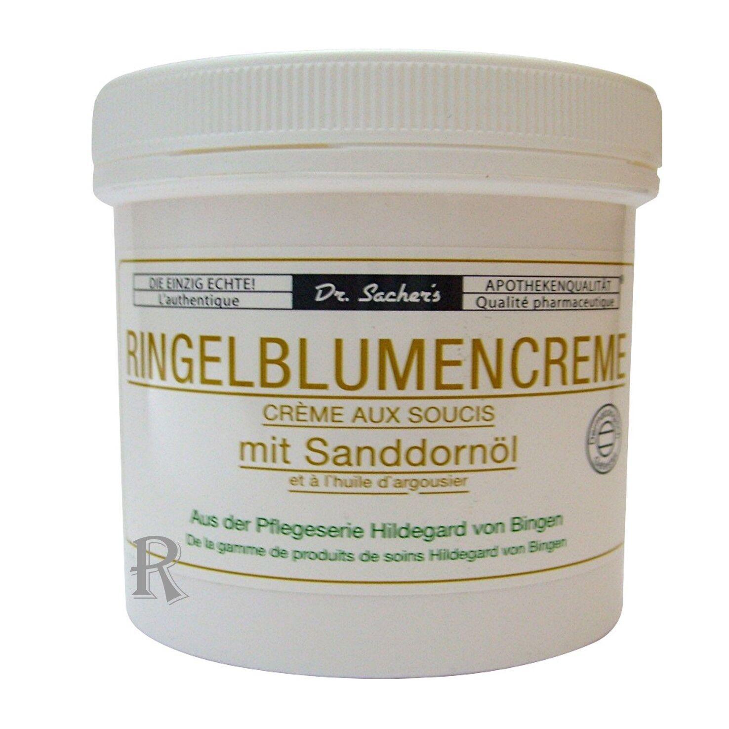Ringelblumen Creme mit Sanddorn-Öl Dr. Sacher s Kühn Kosmetik Sparen im Set
