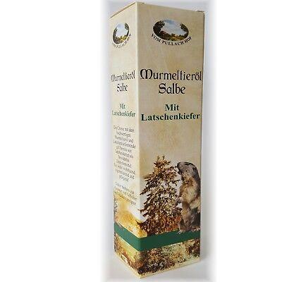 Öl Salbe (2 Tuben Murmeltieröl Salbe Latschenkiefer Murmeltier Salbe Creme ÖL Pullach Hof)