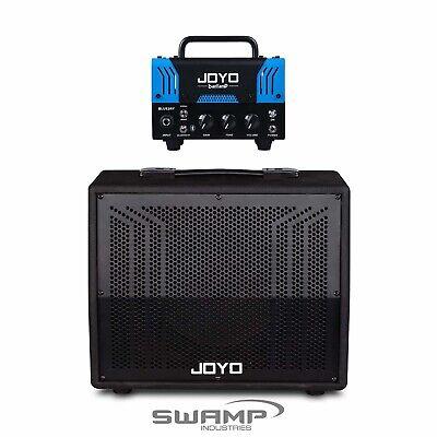 """JOYO banTamP """"BlueJay"""" 20W Hybrid Tube Amp Head US Clean w 8"""" Cab"""