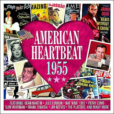 American Heartbeat 1955 VARIOUS ARTISTS Music BEST 50 TRACK COLLECTION New 2 (Best Soulful House Tracks)