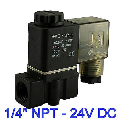 14 Inch Fast Closing Direct Acting Water Plastic Electric Solenoid Valve 24v Dc
