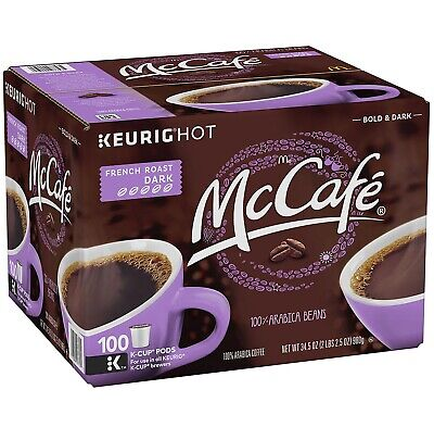 - McCafe French Roast K-Cup Coffee Pods (100 ct.)