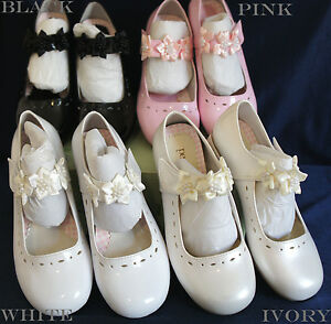 Flower Girl White Shoes Size