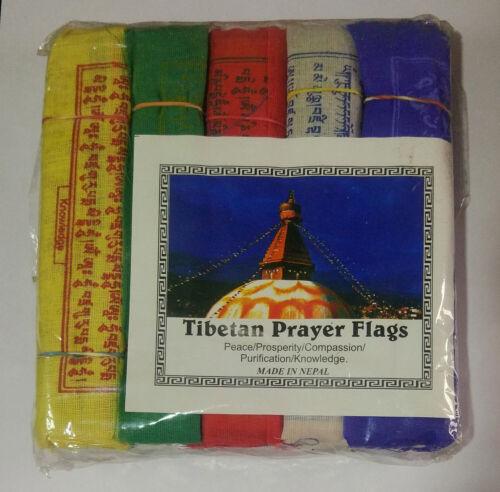 50 pcs Buddhist Flag wind flag Tibetan Religious garden hanging flag decor