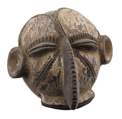 Mask African Passport Miniature Divination Fetish Initiation 6482 B4MB