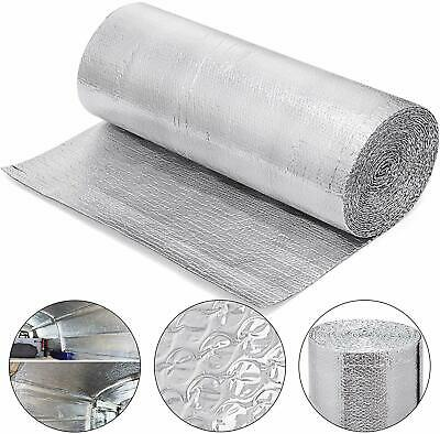 Double Bubble Reflective Insulation Vapor Barrier Crawlspace Attic Rafter 16x125