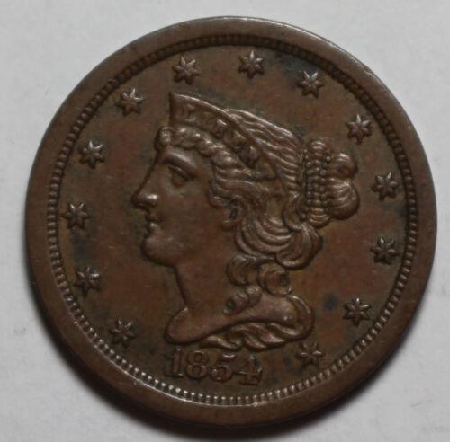 1854 US Half Cent WR485