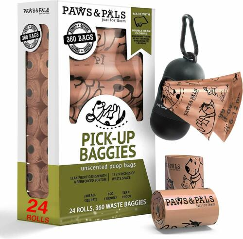 Poop Bags for Dogs Biodegradable Waste Pet Dog & Cat Unscented Poo Bag
