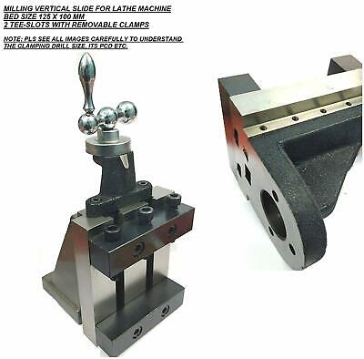 Lathe Milling Vertical Slide 100 X 125 Mm With Clamping Jaws