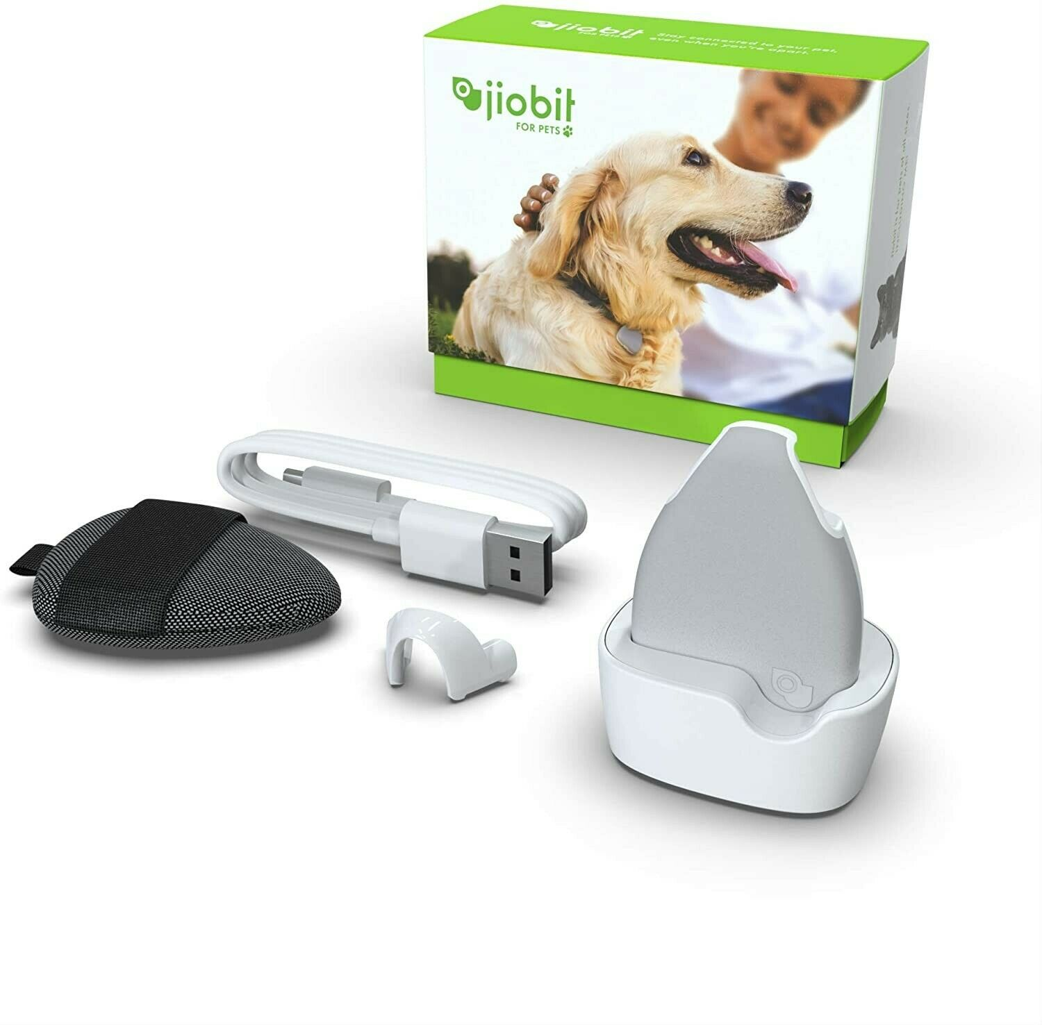 Jiobit Pet/Child Tracker - Live Location Monitoring For Dogs And Cats Of Any...  - $75.00