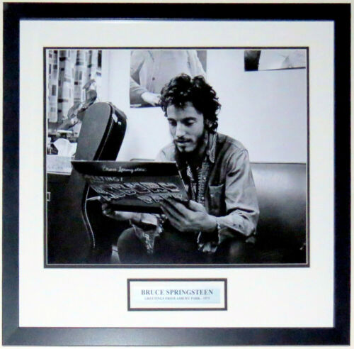 Bruce Springsteen 1973 Album Release 16x20 Photo Professionally Framed & Plate