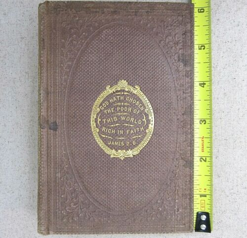 Antique Book The Negro Servant by Legh Richmond Book from Masonic Library