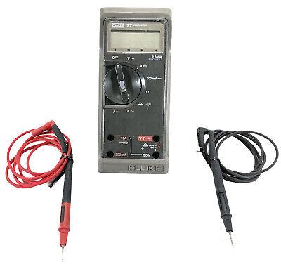 Fluke 77 Multimeter For Parts Or Repair