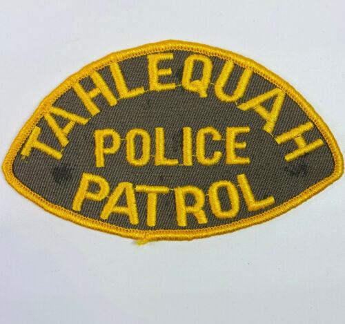 Tahlequah Police Patrol Cherokee County Oklahoma OK Patch
