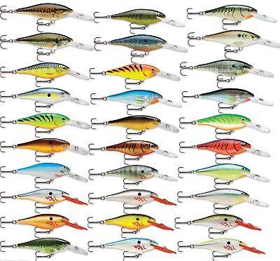 Shad Fishing Bait - Rapala Shad Rap Sr09 Crankbait Bass Fishing Lure 3 1/2