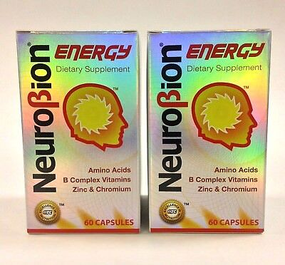 2 BOTTLES OF NEUROBION ENERGY 60 CAPSULES