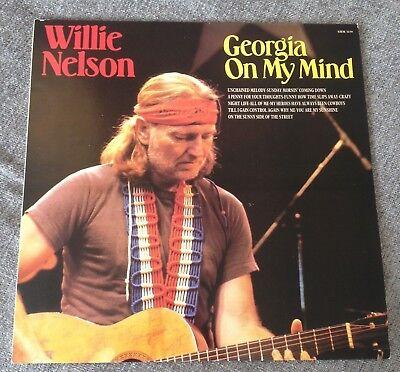 LP WILLIE NELSON GEORGIA ON MY MIND 1984.