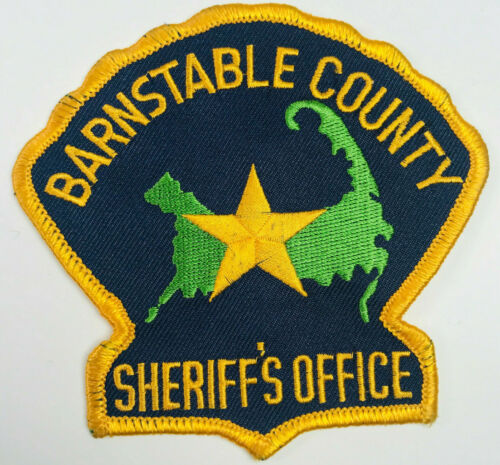 Barnstable County Sheriff Massachusetts Patch (A)
