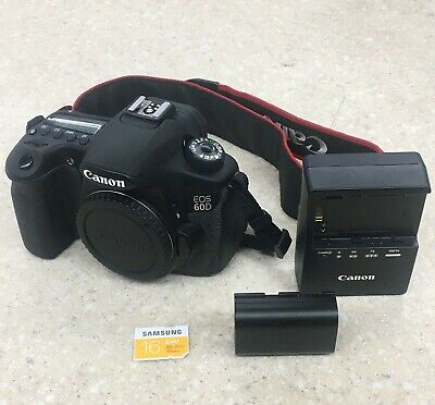 Canon EOS 60D 18MP Digital SLR Camera Body #7519