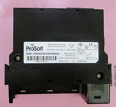 Allen Bradley Prosoft Mvi56 Communications Module