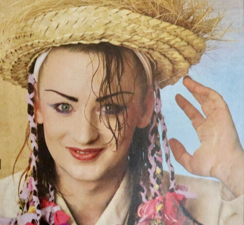 Culture Club vintage multi fold out posters