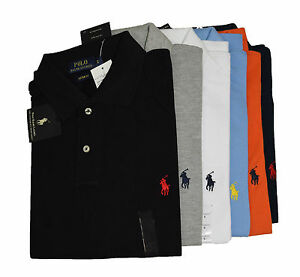 Men-039-s-Polo-Ralph-Lauren-Short-Sleeve-T-Shirts-Custom-Fit