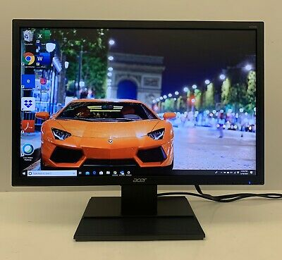 "Acer V226WL 22"" Widescreen LED Monitor 1680 x 1050 (with Stand and Cables)"