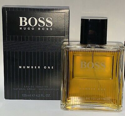 Boss Number One By Hugo Boss EDT 4.2 Oz Spray For Men New Hugo Boss Number One