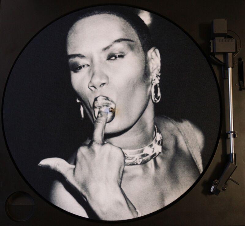 Grace Jones 12 inch Turntable Slipmat DJ