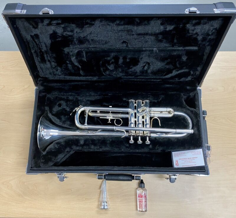 USED Jupiter JTR-700S Intermediate Silver Plated Bb Trumpet *FREE SHIPPING*