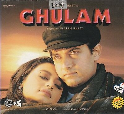 GHulam - Aamir Khan , rani Mukherjee [2Cds set] One Free Cd Inside  for sale  Shipping to India