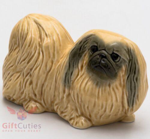 Porcelain Figurine of the Pekingese dog